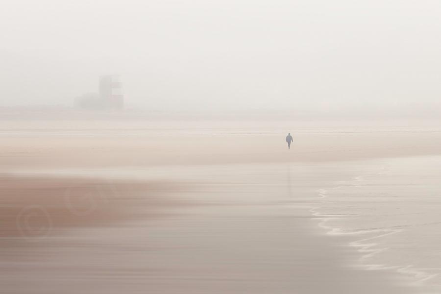 Misty Days On the Beach 11  - St. Brelade's Bay