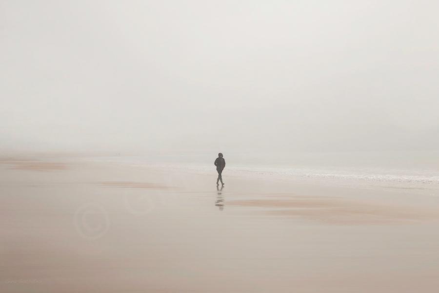 Misty Days On the Beach 14  - St. Brelade's Bay