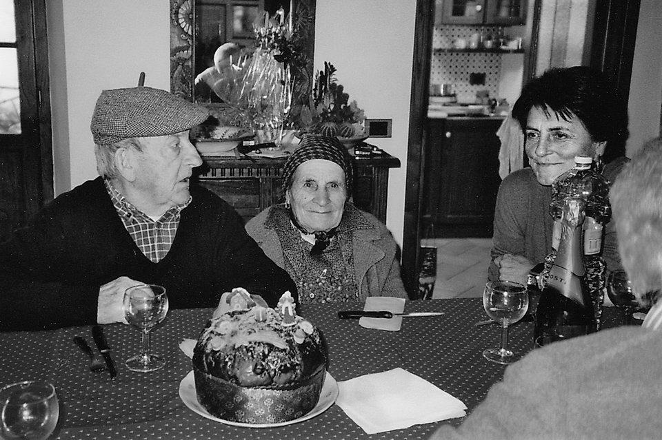 Christmas 1993 Giovanni Palma and Anita