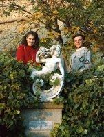 Giusi and Dario in Cortona 1984