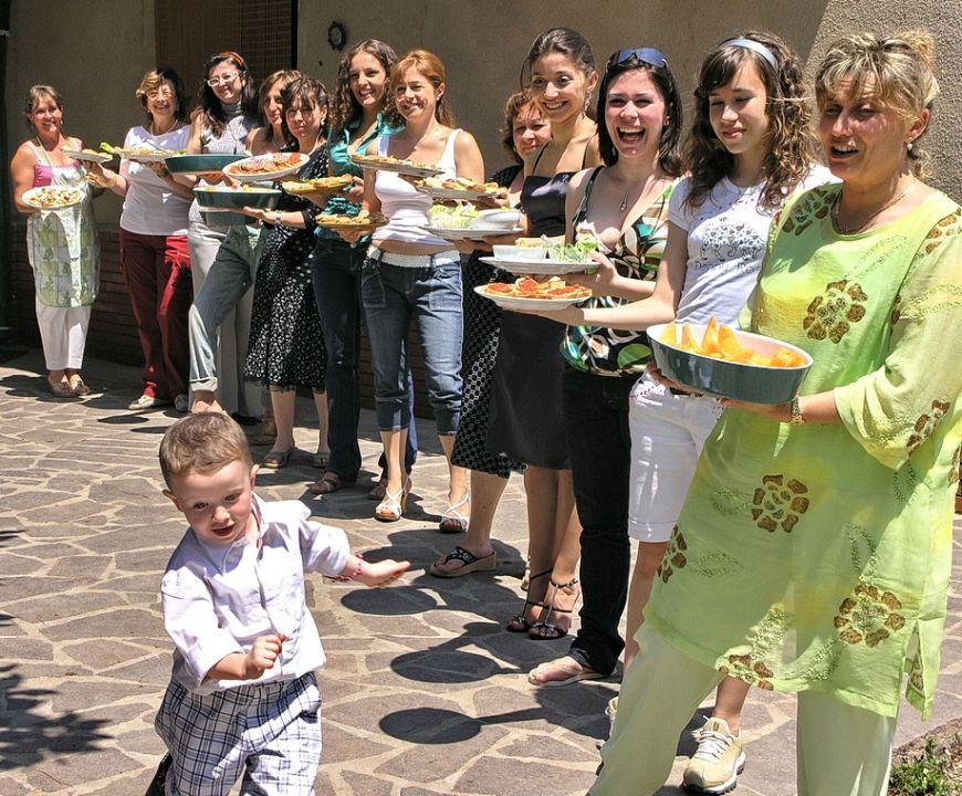 antipasti for family festa