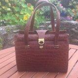 1950s Crocodile Handbag. POA