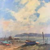 Mudeford Harbour by Peter Gilman 1980