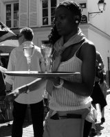 Waitress, Place du Tertre