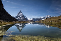 The Matterhorn from Riffelsee