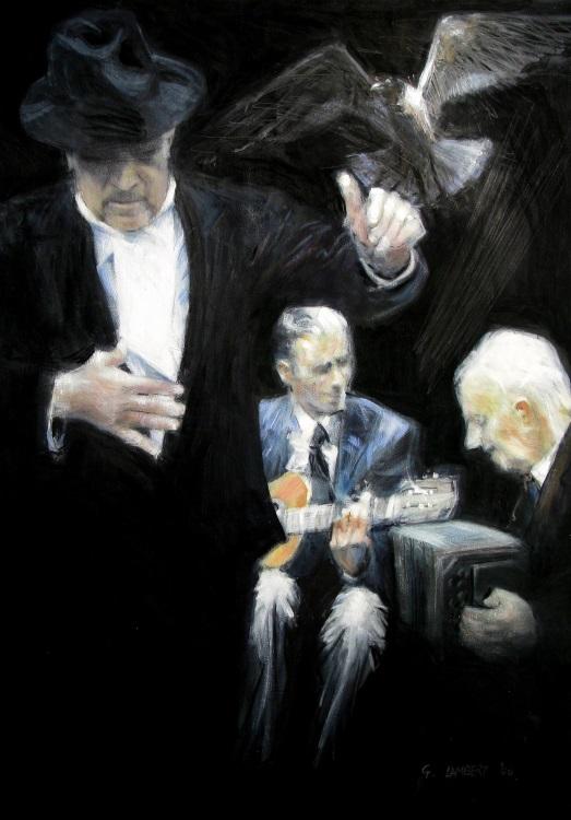 Argentine street tango men