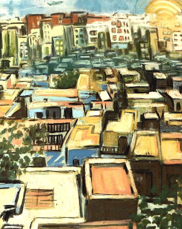 Almeria rooftops