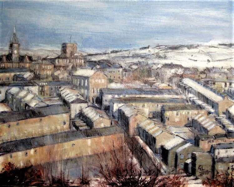 Colne - a winter view