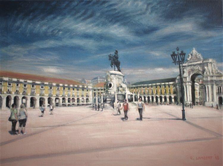 Commercial Square Lisbon