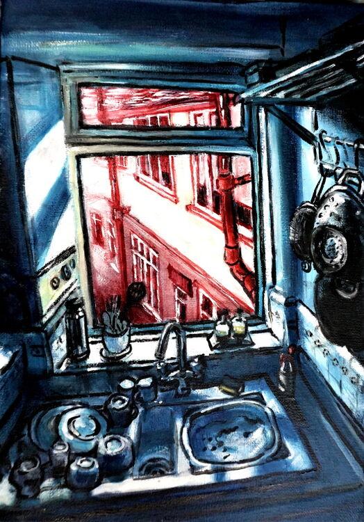 AD 2020 kitchen view