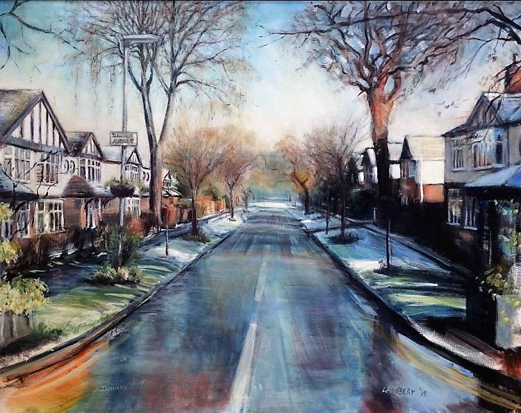 The Avenue - winter