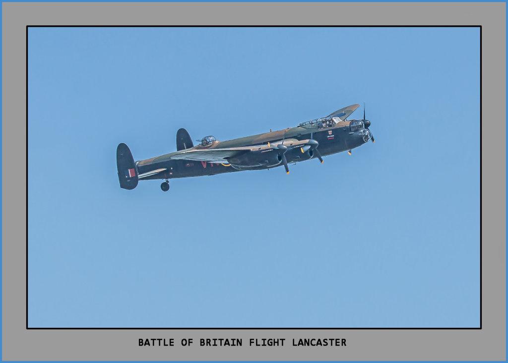 Battle of Britain Memorial flight, Lancaster Bomber