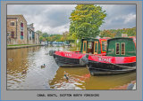 Rosie and Jim Canal Boats, Skipton North Yorks.