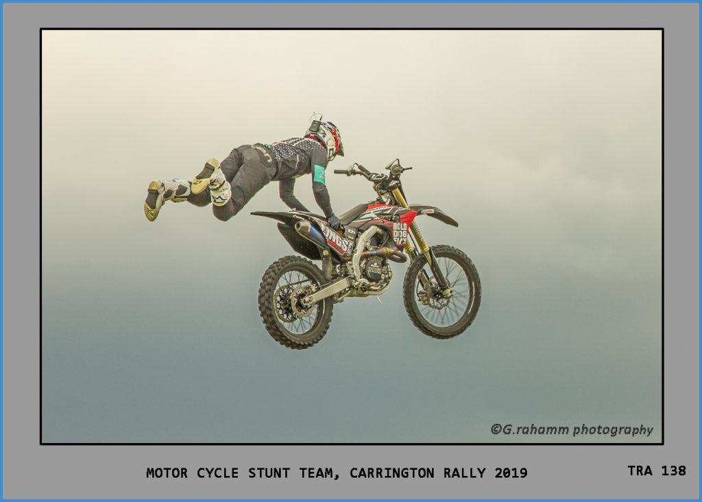 Motor Cycle Stunt Team, Carrington Rally 2019