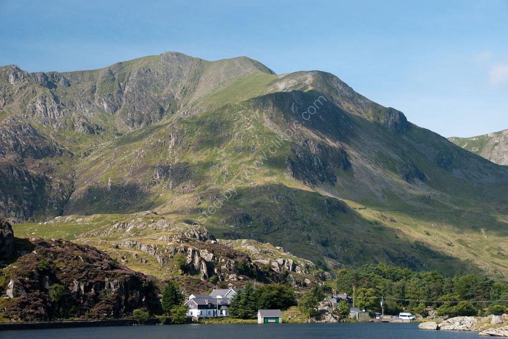 Y Garn above Llyn Ogwen Snowdonia