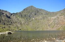 Mount Snowdon from Llyn Llydaw