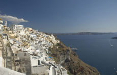 Thira on Santorini