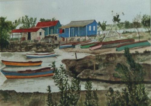 Boats in Bayahibe, Hispaniola