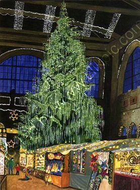 Swarovski's Christmas tree, Zurich