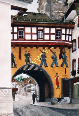 Aarau, historic old town