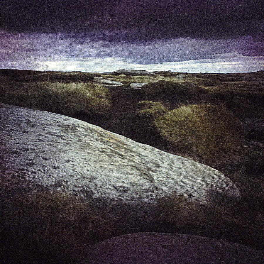 Kinder Scout Moor Pinhole Photograph