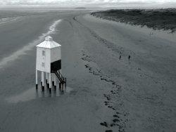 Burnham Lighthouse B&W
