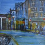 London street dusk  jpg