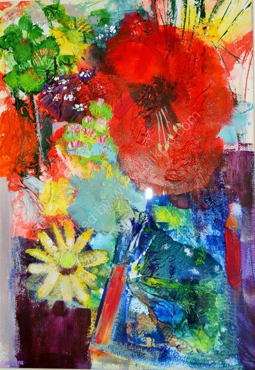 floral abstraction