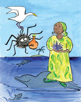 From 'Three Tasks for Anansi the Spider'