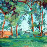 Cezanne Trees