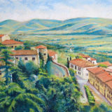 Orvietto View Tuscany