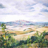 Tuscan Hilltop Town