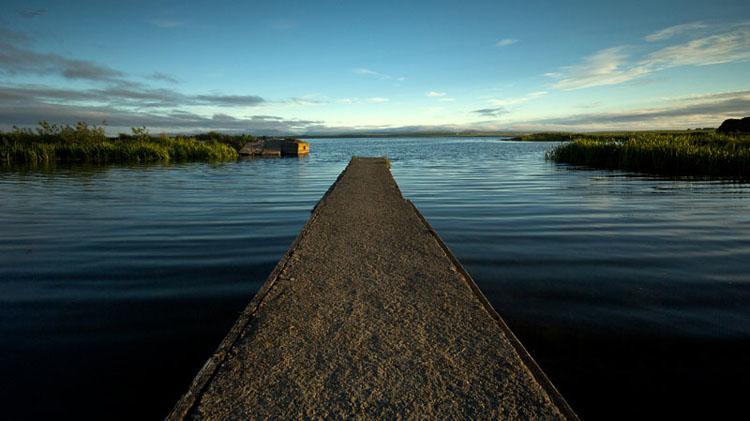 Boat Jetty, Loch Harray