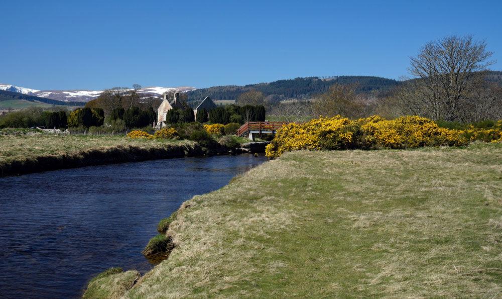 Bridge across the Sgiteach