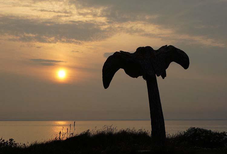 The Whalebone at Sunset