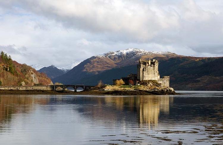 Eilean Donan Castle Reflections