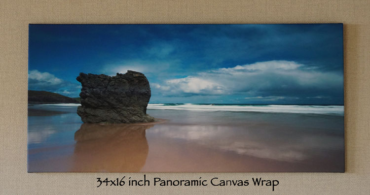 Canvas Gallery Wrap 16X34 INCHES (PANORAMIC)