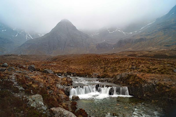 Rain at the Fairy Pools