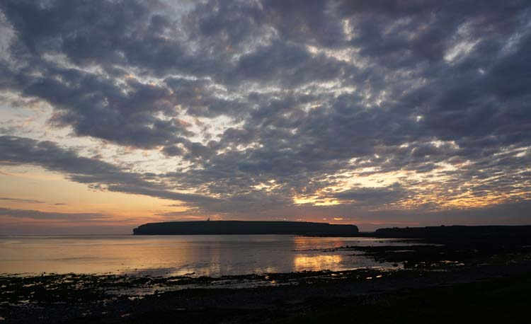 Sunset over Birsay