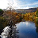 Averon River in Autumn