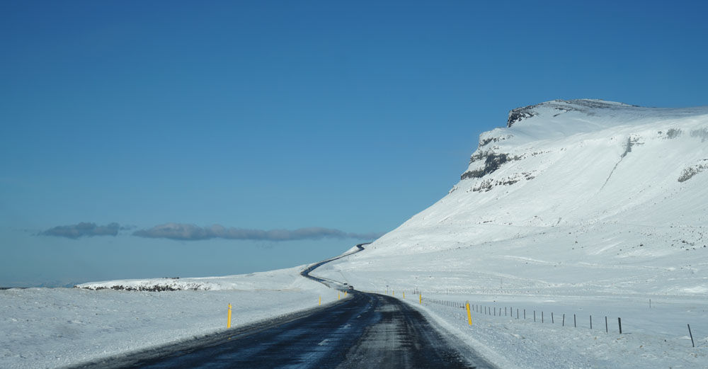 Winding Road to Kirkjufell