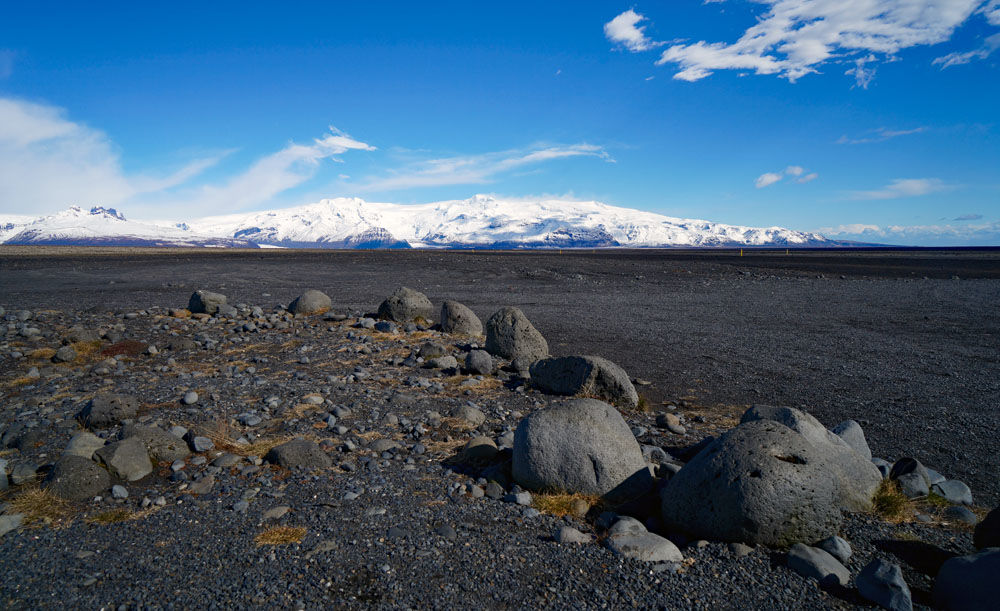 Rocks, Mountains and Lava