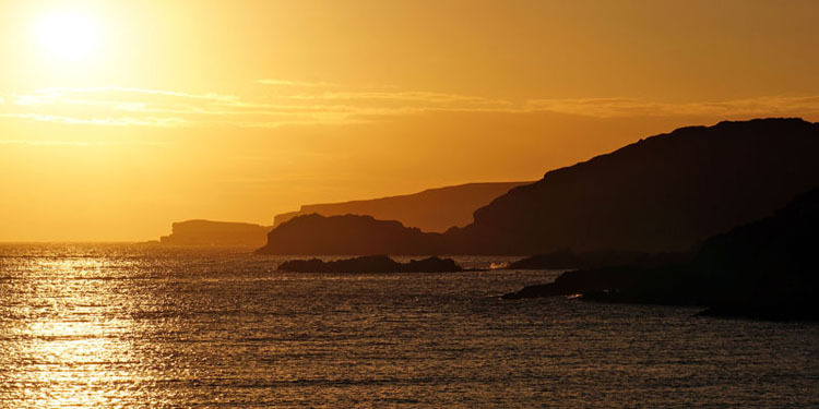 Handa Island Sunset