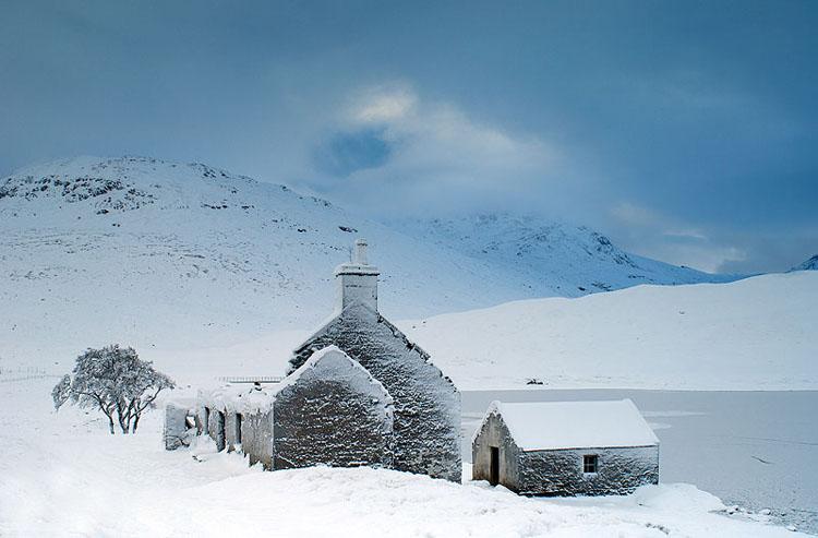 Snow Blasted Ruin