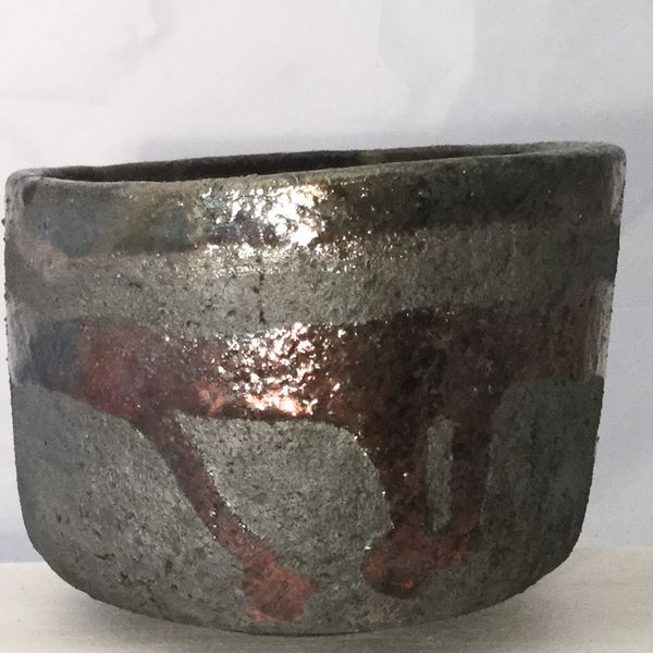 Raku tea bowl 1