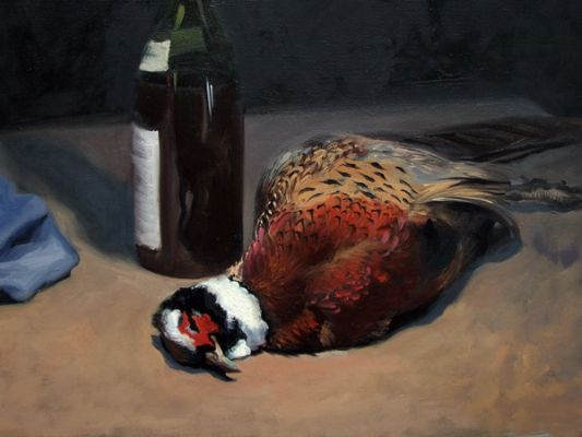 Michigan Blue Pheasant and Rioja