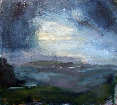 Leobost view, Skye