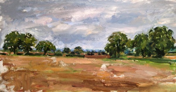 Autumn in Constable Country, East Bergholt