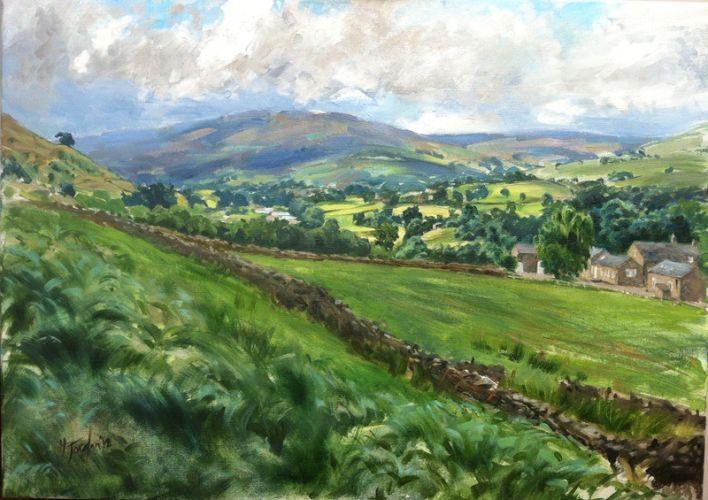 Knowehead, landscape commission, Cumbria