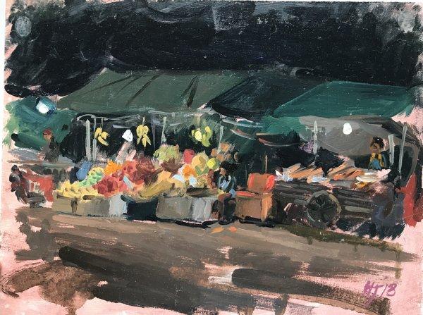 Siem Reap local night market